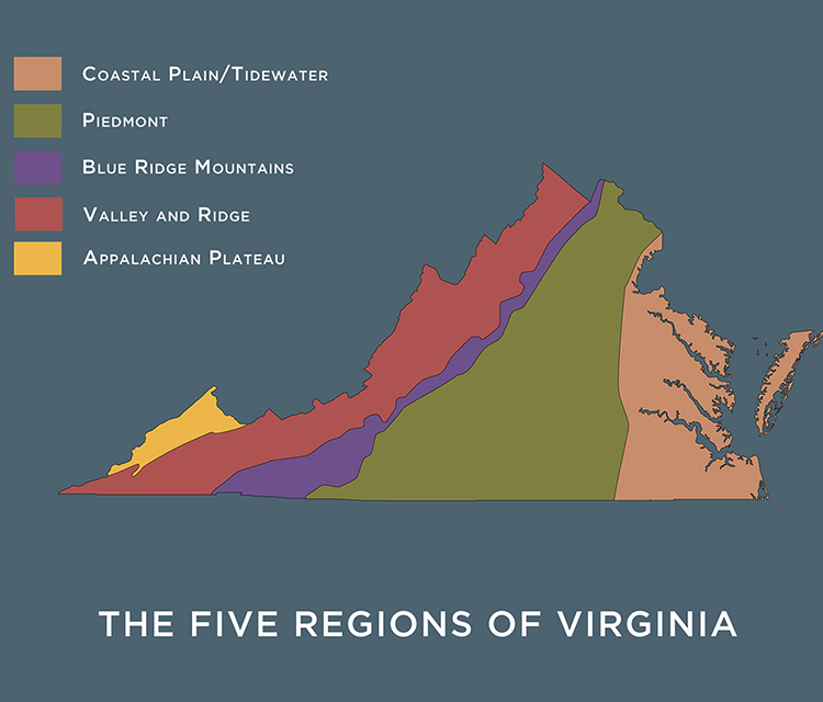 Area of Virginia