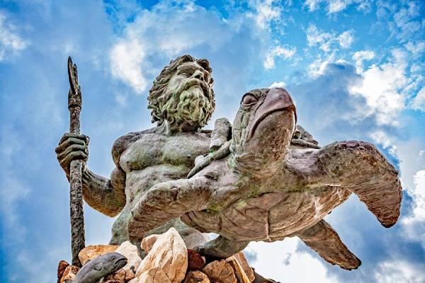 Image of Poseidon Statue - King Neptune Statue