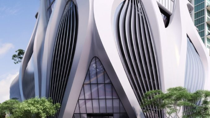 Zaha Hadid Architects' First Residential Skyscraper in the Western Hemisphere