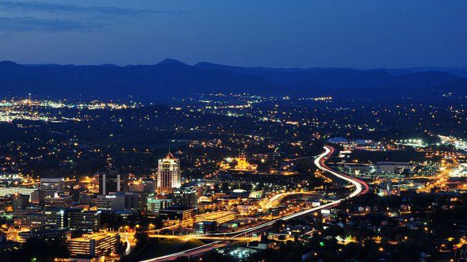 Image of West Virginia, Skyline At Twilight