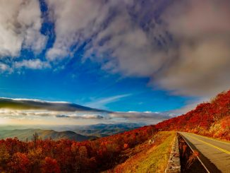 Image of A Beautiful View of Blue Ridge Virginia